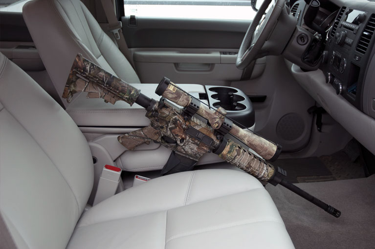 ar15 truck console mount discrete defense solutions. Black Bedroom Furniture Sets. Home Design Ideas