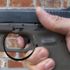 An image shows trigger fucntion and control for a small beretta handgun